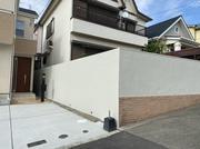 外壁の塗装を行いました。