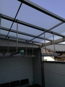 バルコニー屋根増設